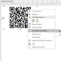 Barcodes in Word 2016, Word 2013 and Word 365 - ActiveBarcode