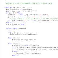 Barcodes with Visual Basic Script, VBS, WSH - ActiveBarcode