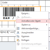 Barcode object